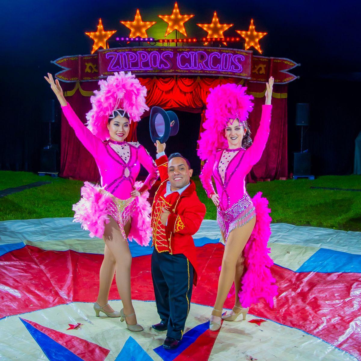 Paulo dos Santos & Showgirls (2) Photographer credit: Piet-Hein Out